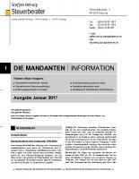 Mandanten-Information Januar 2017
