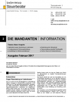 M-Mandanten-Information Februar 2017