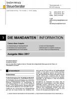 Mandanten-Information März 2017
